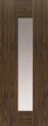 JB Kind Axis Walnut Glazed Door